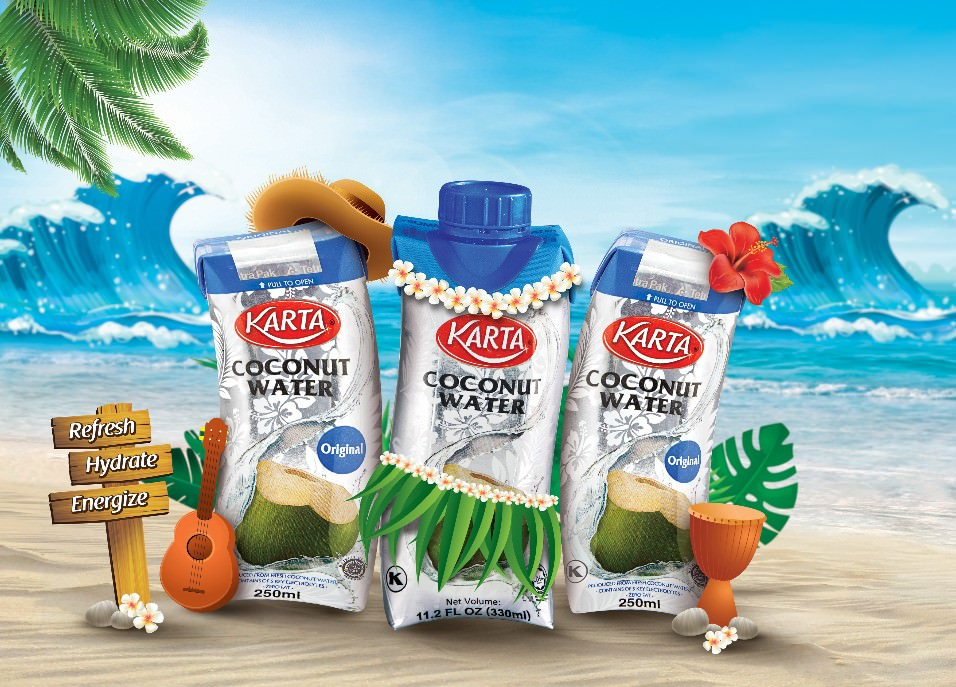 Image from KARTA Coconut Water