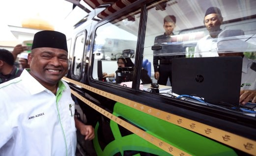 Datuk Seri Abdul Azeez Abdul Rahim was appointed as Lembaga Tabung Haji chairman in 2013.