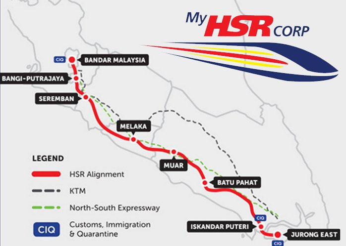 Malaysia Says It Will Axe High-Speed Railway to Singapore