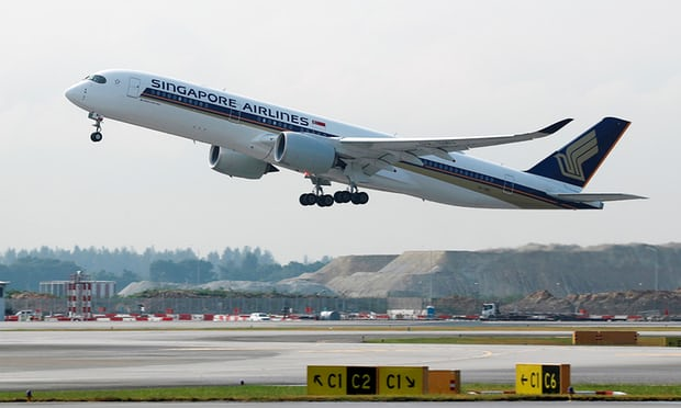 Singapore Airlines' Airbus A350-900ULR.