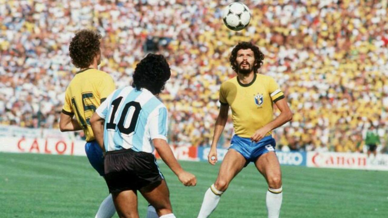 Brasil in the World Cup in 1982.
