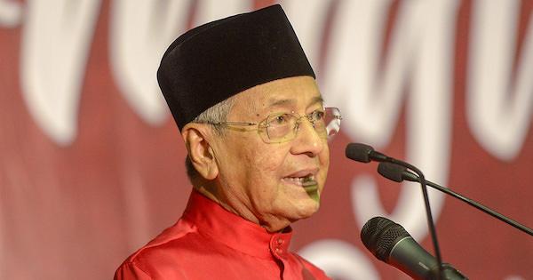 Mahathir was speaking at the Parti Pribumi Bersatu Malaysia (PPBM) Iftar event yesterday, 4 June.