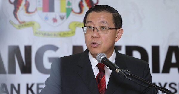 Lim Guan Eng was speaking at a press conference in Putrajaya today, 5 June.