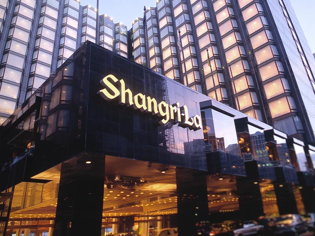 Shangri-La Hotel in Kowloon, Hong Kong.