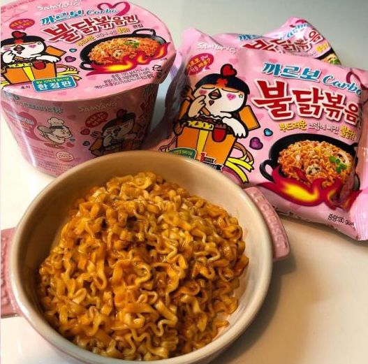Samyang Carbo Hot Chicken Spicy Ramen · Image from 11Street