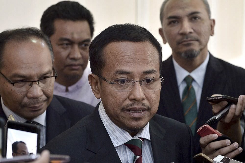 Terengganu Menteri Besar Dr Ahmad Samsuri Mokhtar was speaking to reporters after the annual National Finance Council meeting earlier today, 7 June.