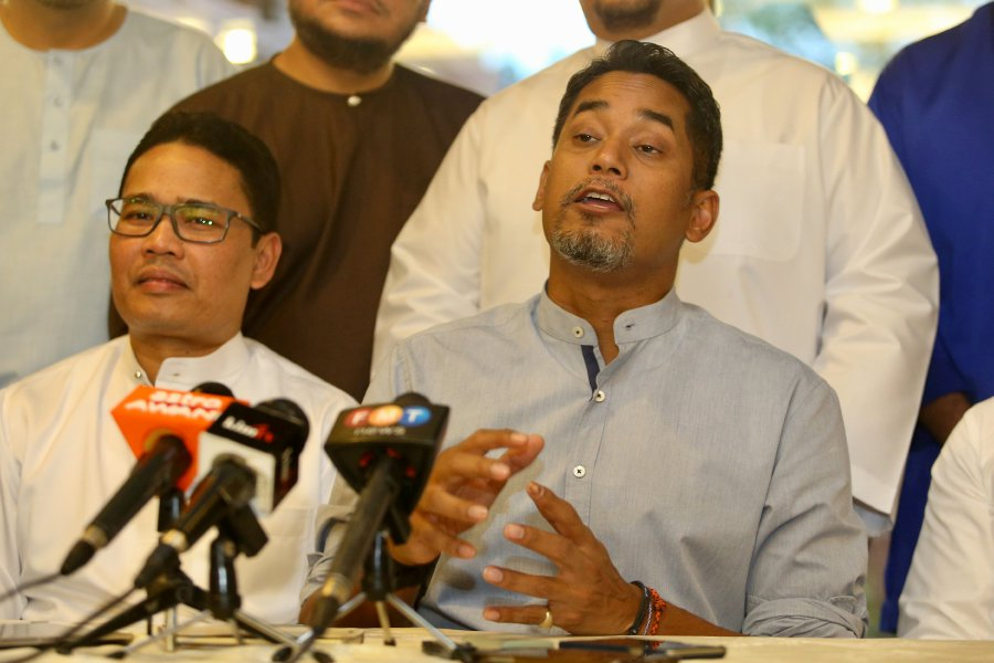 BN Youth chief Khairy Jamaluddin