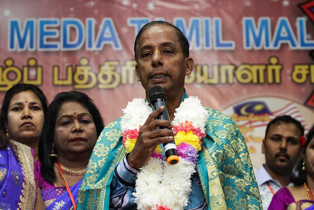Human Resources Minister M. Kulasegaran.