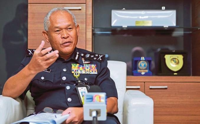 NCID director Datuk Seri Mohmad Salleh