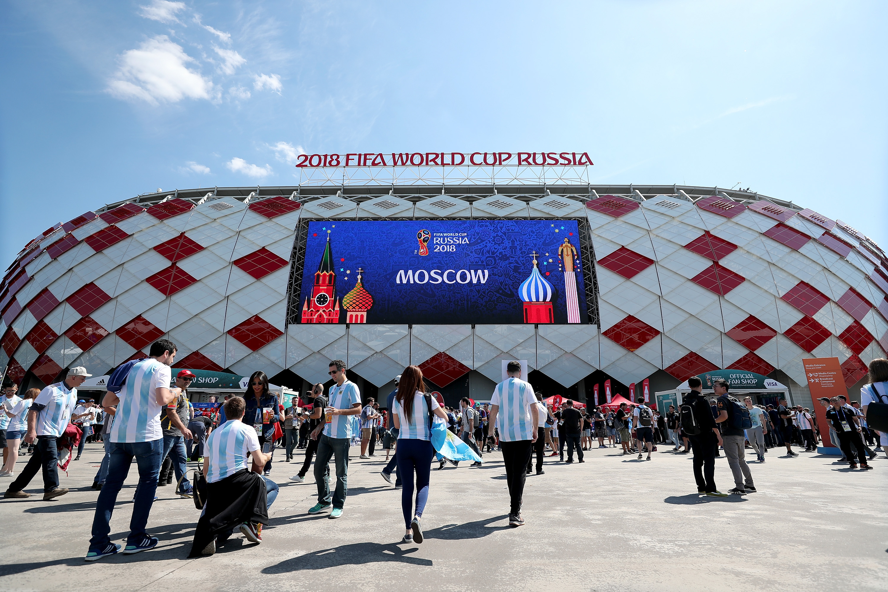 Image from Getty Images / 2018 FIFA World Cup Russia