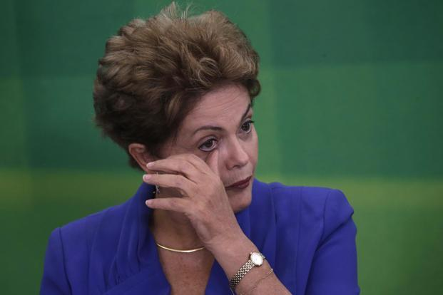Former president Dilma Rousseff