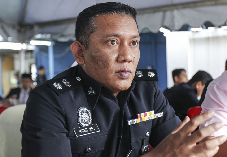 A file photo of Wangsa Maju OCPD Superintendent Mohamad Roy Suhaimi Sarif.