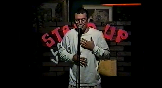 Jo Koy performing in 1993.