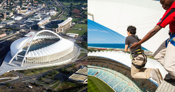 Image from South African History Online/Moses Mabhida Stadium