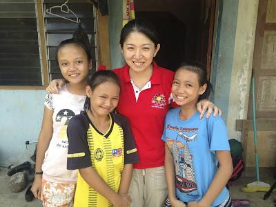Yeo in Kampung Sait.