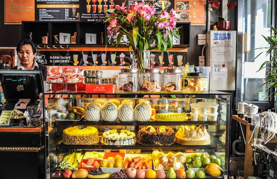 Image from Fina's Vegetarian Cafe