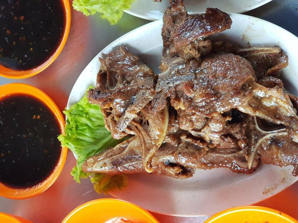 Image from D'Boss Kambing Bakar Berapi (Facebook)