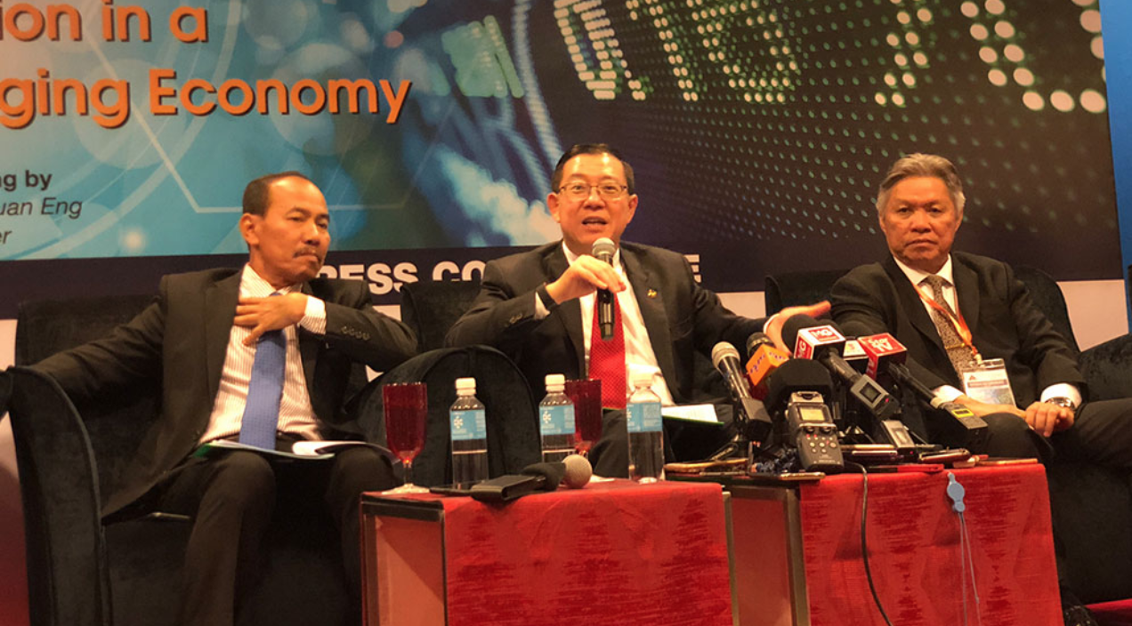 Guan Eng was speaking at the 18th National Tax Conference held yesterday, 16 July.
