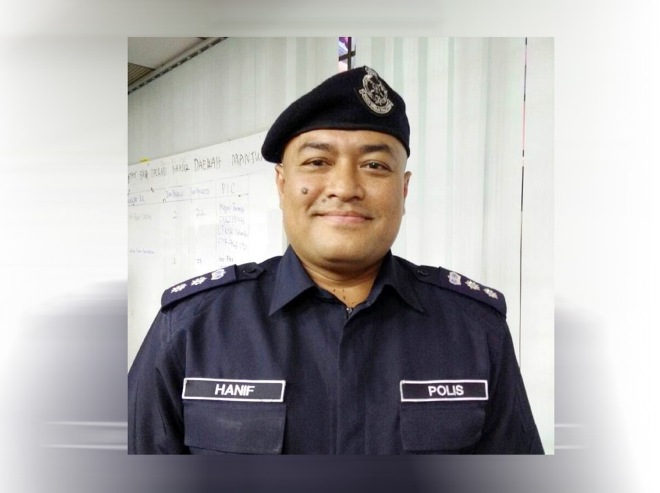 Manjung police chief Assistant Commissioner Muhammad Hanif Othman