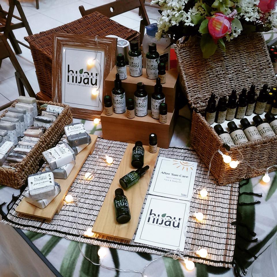 The high quality essential oils and aromatherapy products from Hijau Philosophy would make for lovely gifts.