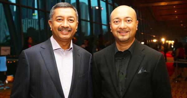 (From left) Mokhzani and Mukhriz