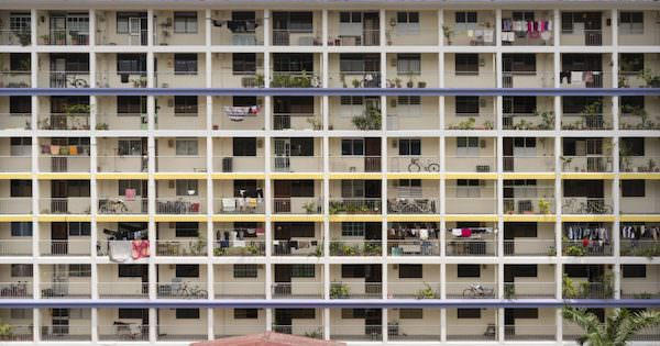 Singapore's Housing Development Board flat