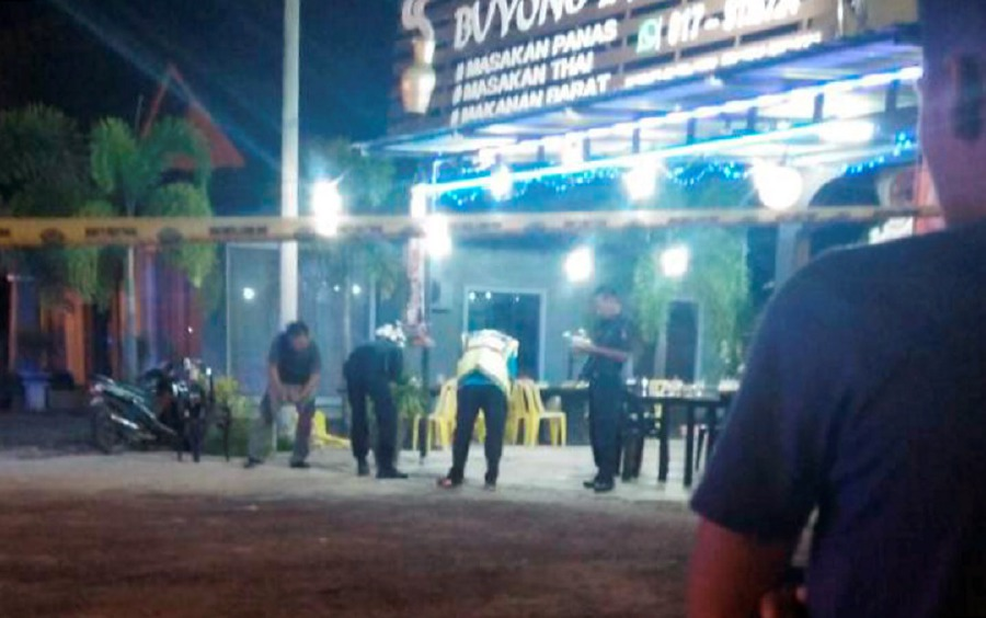 In March, the man shot a restaurant owner and his Thai worker multiple times in Kota Bahru.