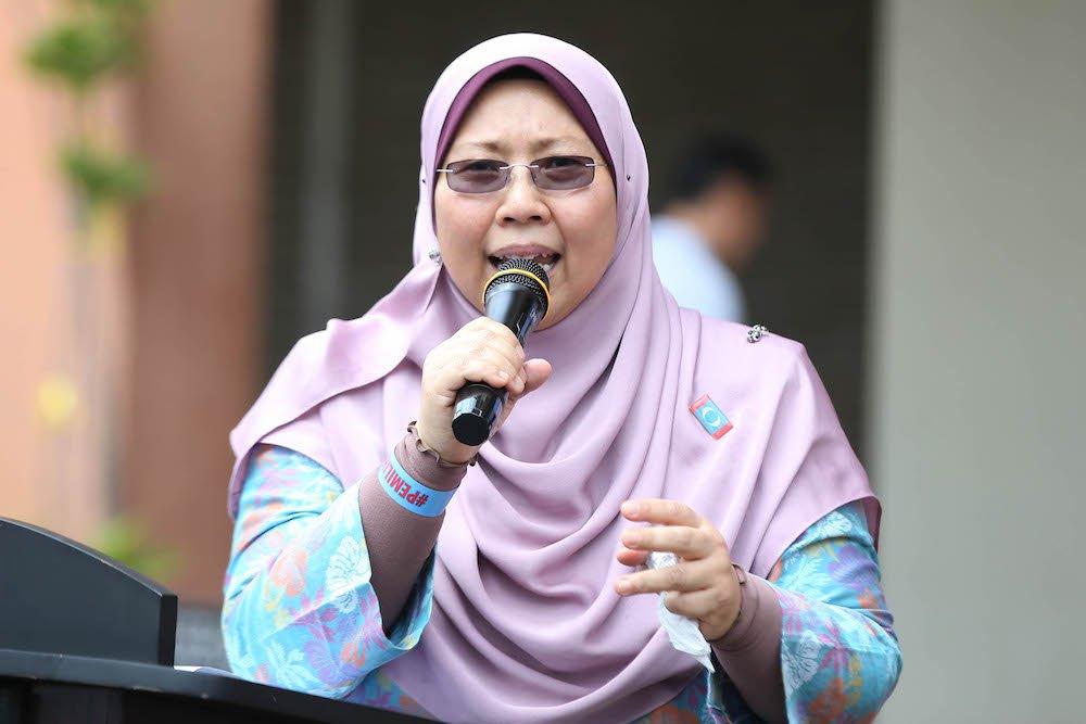 Deputy Minister in the Prime Minister's Department Fuziah Salleh