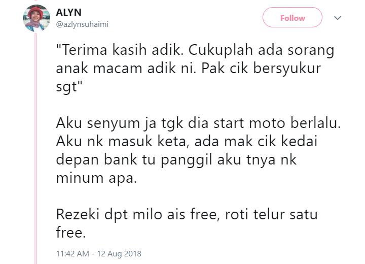 Image from Twitter @azlynsuhaimi