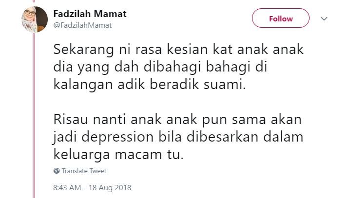 Image from Twitter @FadzilahMamat
