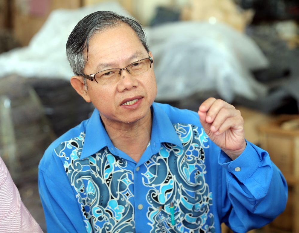 Deputy Health Minister Dr. Lee Boon Chye