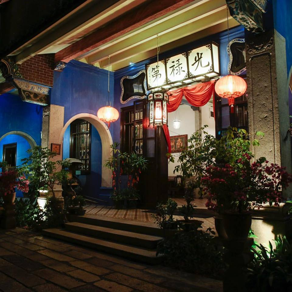Image from Cheong Fatt Tze - The Blue Mansion