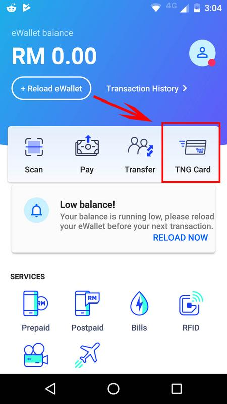 You Can Now Check Your Physical Touch N Go Card Balance On The App Here S How