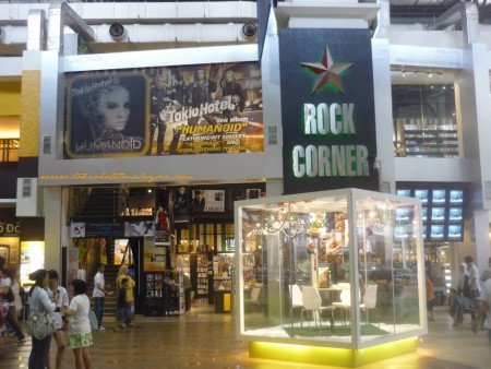 The two-storey Rock Corner outlet in Mid Valley, circa 2010.