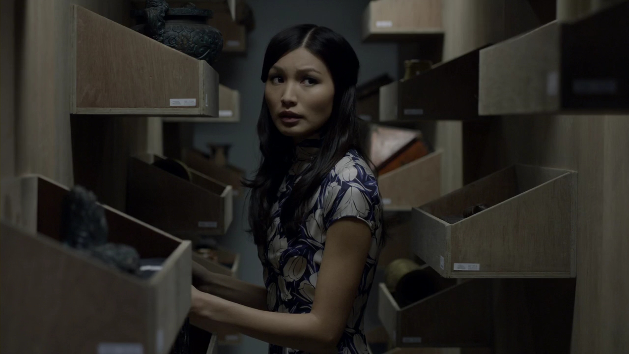 Gemma Chan as Soo Lin Yao in BBC's modern-day adaptation of the Sherlock Holmes book series.