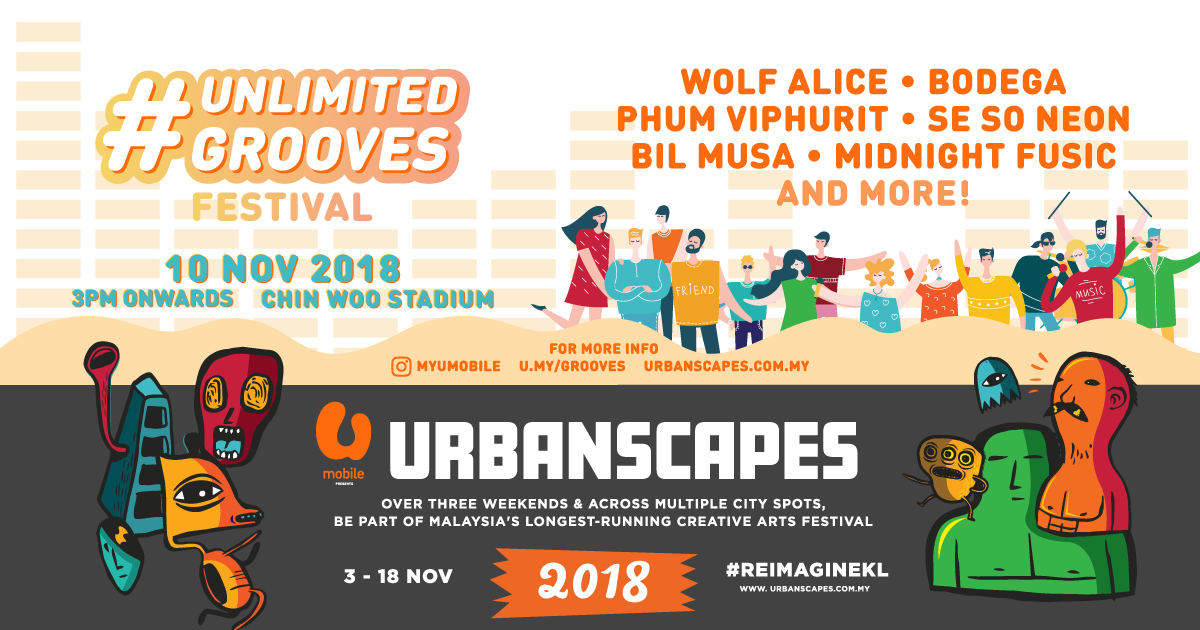 Image from Unlimited Grooves Festival/Urbanscapes