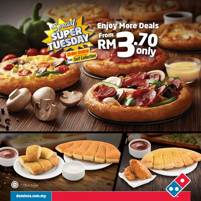 Image from Domino's Pizza Malaysia (Facebook)