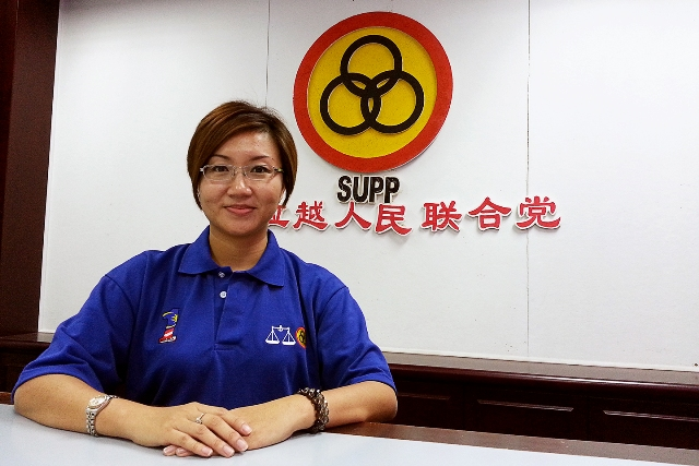 Amy is also chairman of the Central Women Section in Sarawak United Peoples' Party (SUPP).