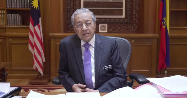 Image from Tun Dr. Mahathir Mohamad/Facebook