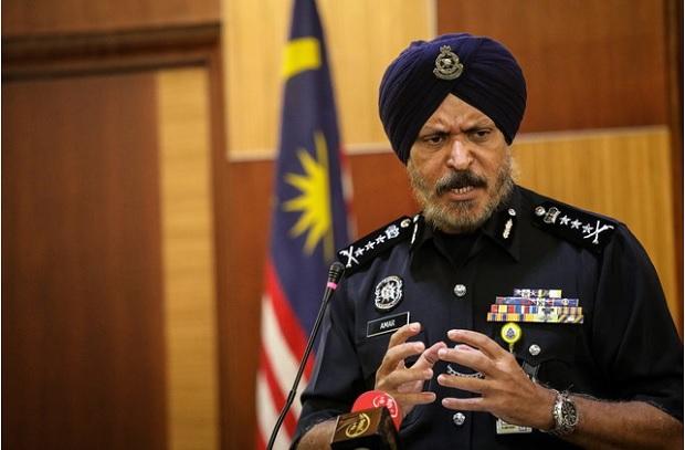 Bukit Aman CCID director Comm Datuk Seri Amar Singh.