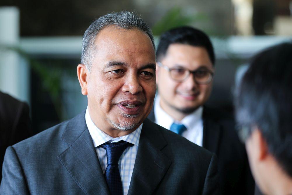 Deputy Finance Minister Datuk Amiruddin Hamzah.