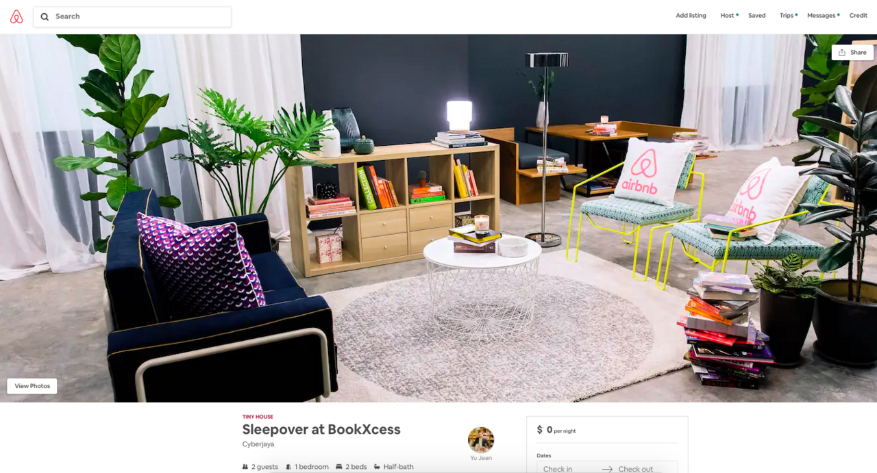 Image from BookXcess/Airbnb
