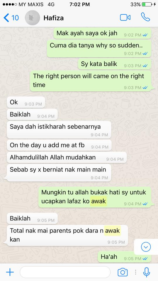 """""""The right person will came on the right time."""""""