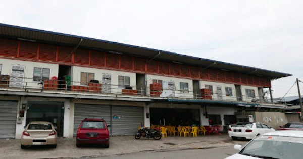 Location in Kampung Baru, Sungai Buloh, where a few of the deceased were found.