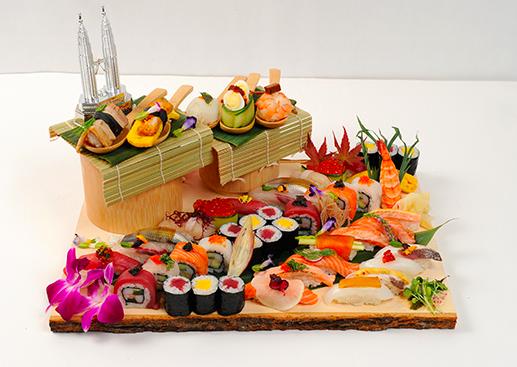 Chef Sky Tai's 'Creative Sushi'.