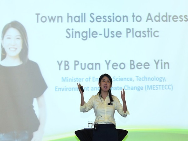 Energy, Science, Technology, Environment, and Climate Change Minister Yeo Bee Yin