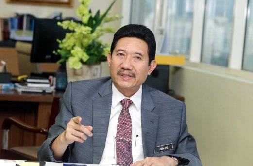 Federal Territories Ministry secretary-general Datuk Seri Adnan Mohd Ikhsan