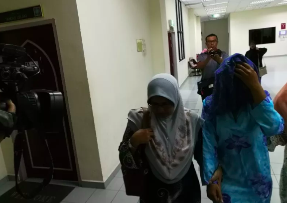 The woman was accompanied into the Syariah Court on 23 September, where she pleaded guilty to a prostitution charge.