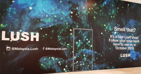 Image from Lush Malaysia/Favebook
