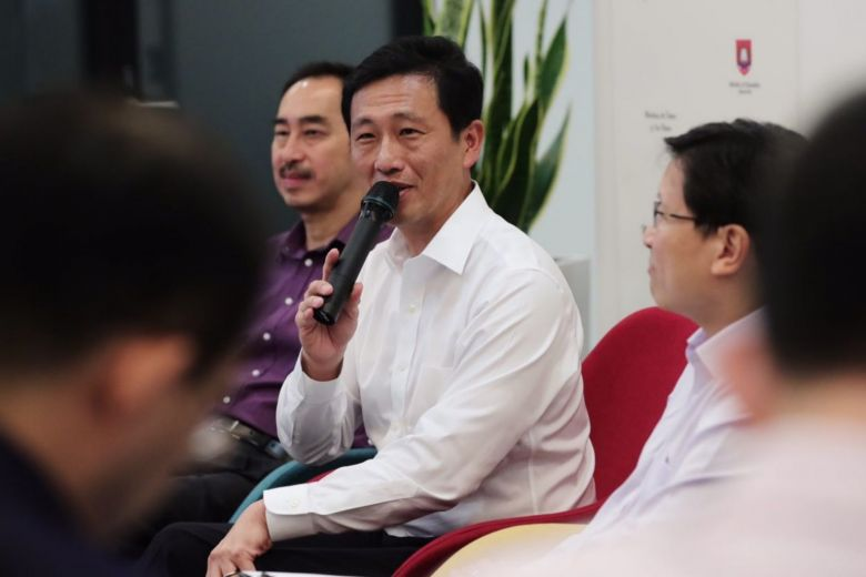 Singapore Education Minister Ong Ye Kung.